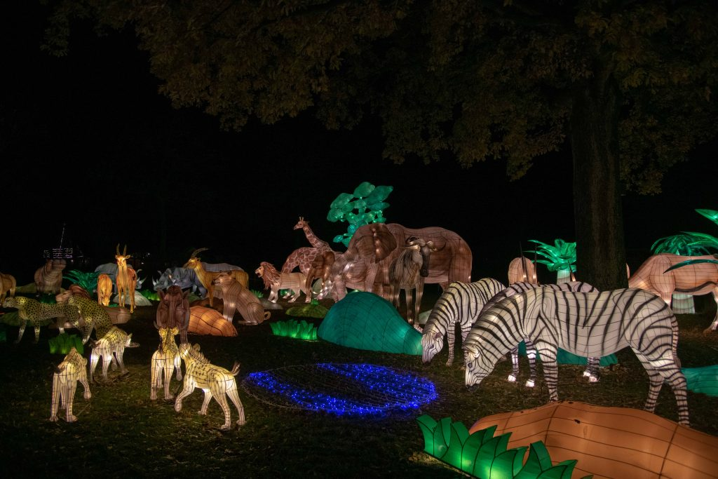 China Light festival in Ouwehand Dierenpark (Dutch)