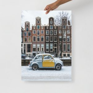 Winter Fiat Wonderland Poster