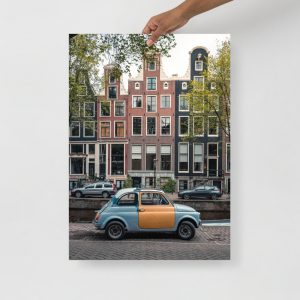 Summer Fiat Poster